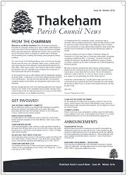 Winter 2015/16 Newsletter