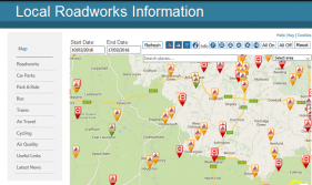 Local roadworks WSCC