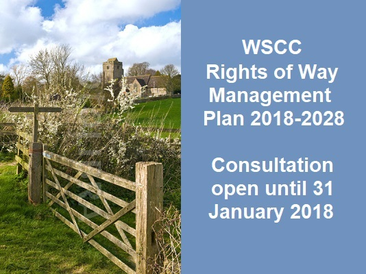 WSCC Rights of Way consultation