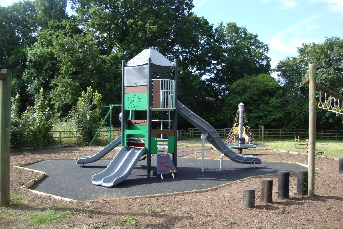 New Mega play tower at High Bar Lane
