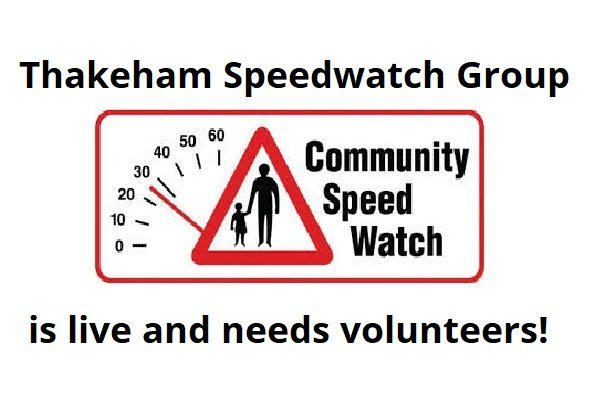 Our Speedwatch Group is live – please join!