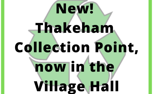 New Recycling Collection Point