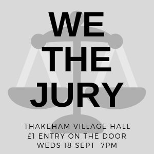 """We The Jury"" Community Event"