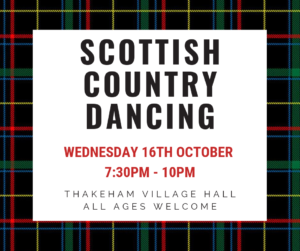 Scottish Country Dancing @ Thakeham Village Hall