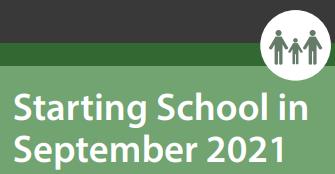 Starting School – September 2021