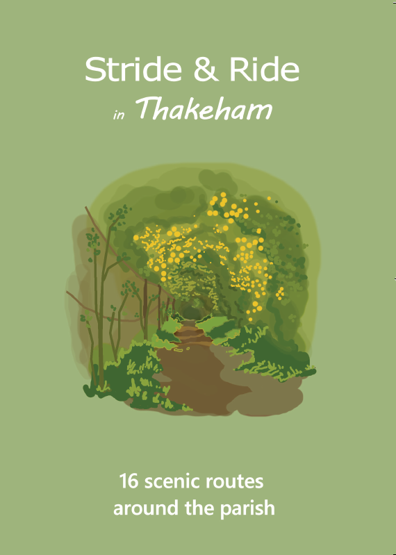 Cover page of Stride and Ride in Thakeham booklet