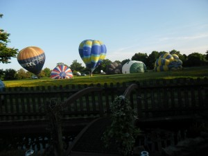 Barbara Laker Balloons at Abingworth