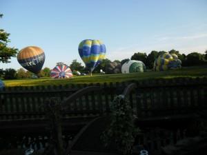 Barbara Laker Balloons at Abingworth