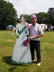 John Bearman Thakeham Jubilee King and Queen